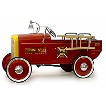 1932 Fire Engine Pedal Toys for Sound Minds and Bodies
